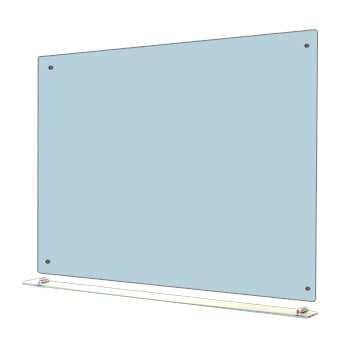 Modern Glass Whiteboard