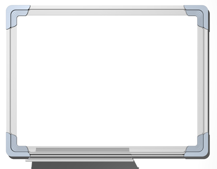 Dry-erase White Board With Alum Frame