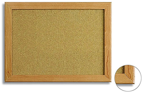 MDF Frame Cork Pin Board