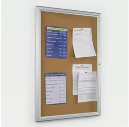 Enclosed Bulletin Board