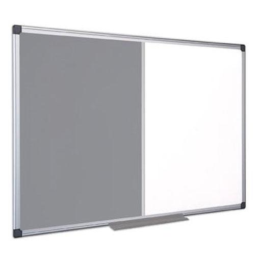 Grey Aluminium Frame Combination Board