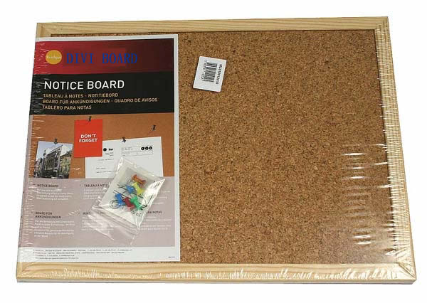 Wood Frame Cork Board