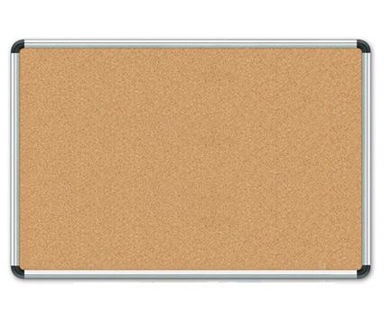 Aluminum Frame Cork Board