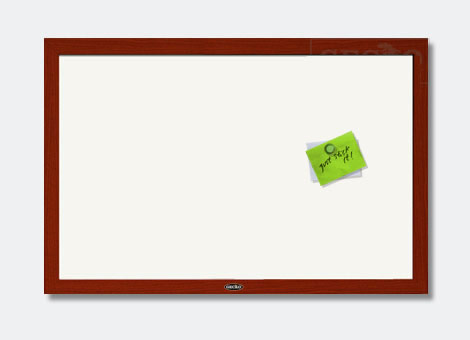 MDF Frame Magnetic Whiteboard