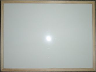 Wood Frame Whiteboard