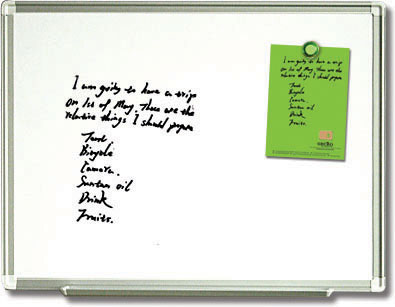 Magnetic Dry Erase Whiteboard